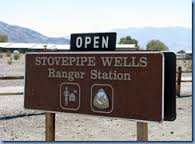 Stovepipe Wells Area